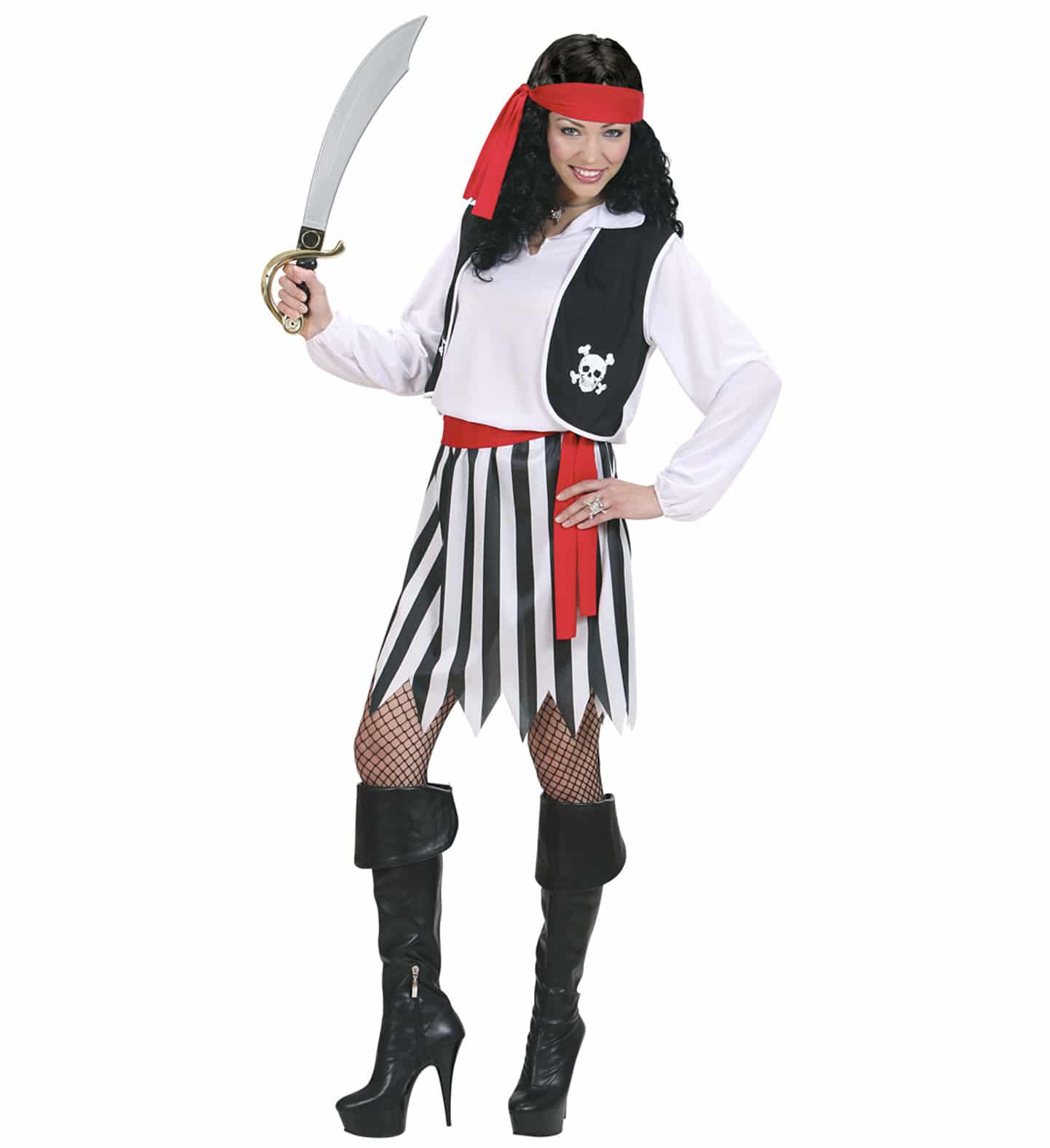 Piratklänning-maskeraddräkt