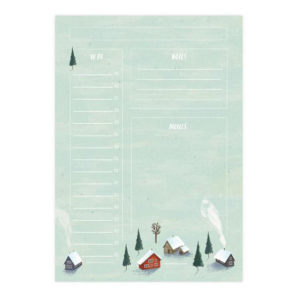Cosy Cabins Notepad A5