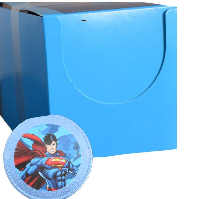 Hel låda Superman Chokladmedalj 24 x 23g - 90% rabatt