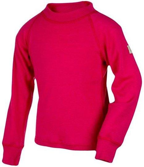 Janus Regnbueull Langermet T-skjorte, Rød, 90