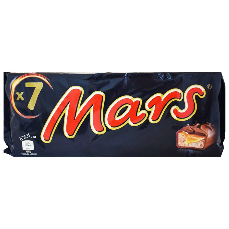 """Godis """"Mars"""" 7 x 45g - 41% rabatt"""