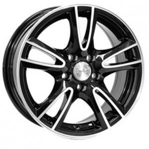 League LG279 Gloss Black Polished 6.5x15 4/108 ET25 B65.1