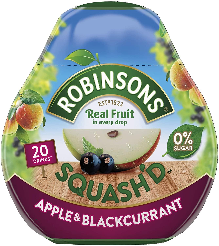 Robinsons Squashd Apple/blackcurrant 66ml