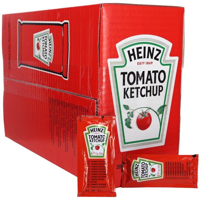 Ketchup Portionspåse 200-pack - 59% rabatt