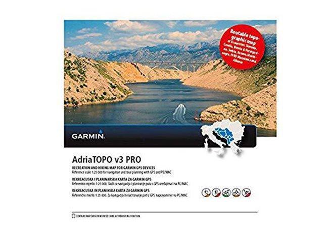Garmin Balkanländerna AdriaTOPO v3 PRO Garmin microSD™/SD™-kort