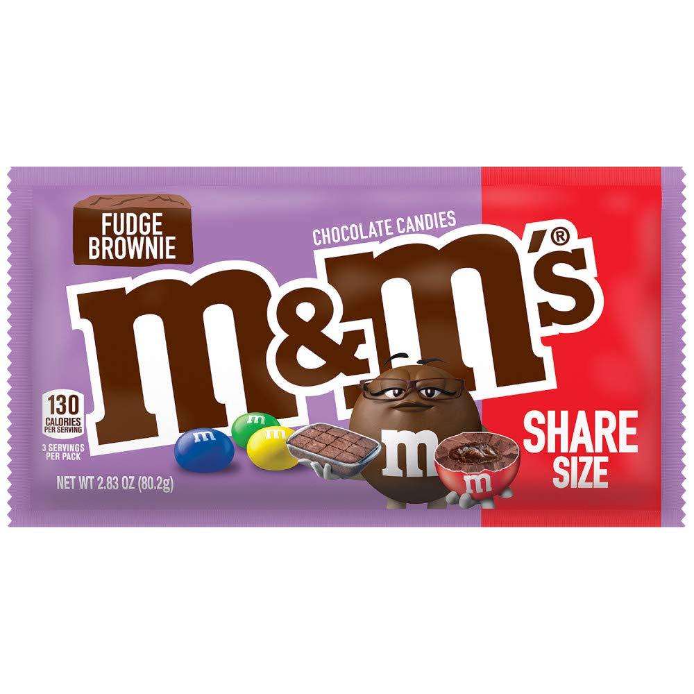 M&Ms Fudge Brownie 80g