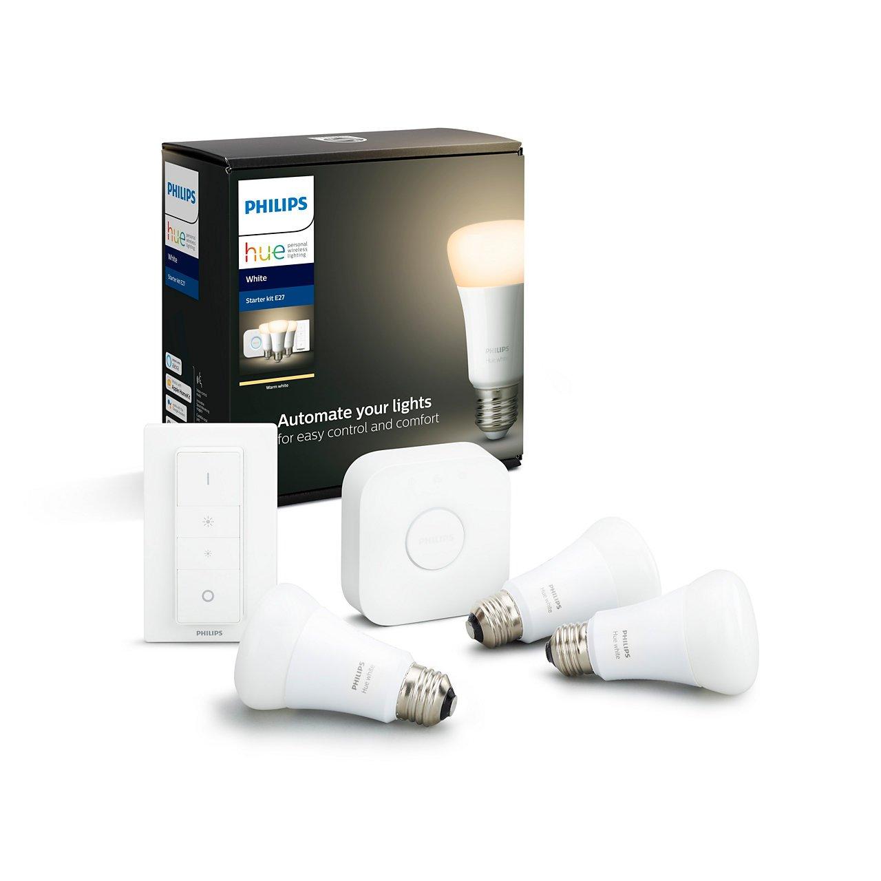 Philips Hue - 3XE27 Starter Kit - White - Bluetooth