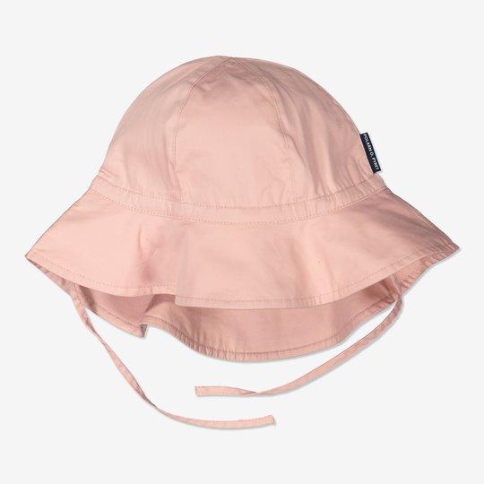 Solhatt med UV-beskyttelse rosa