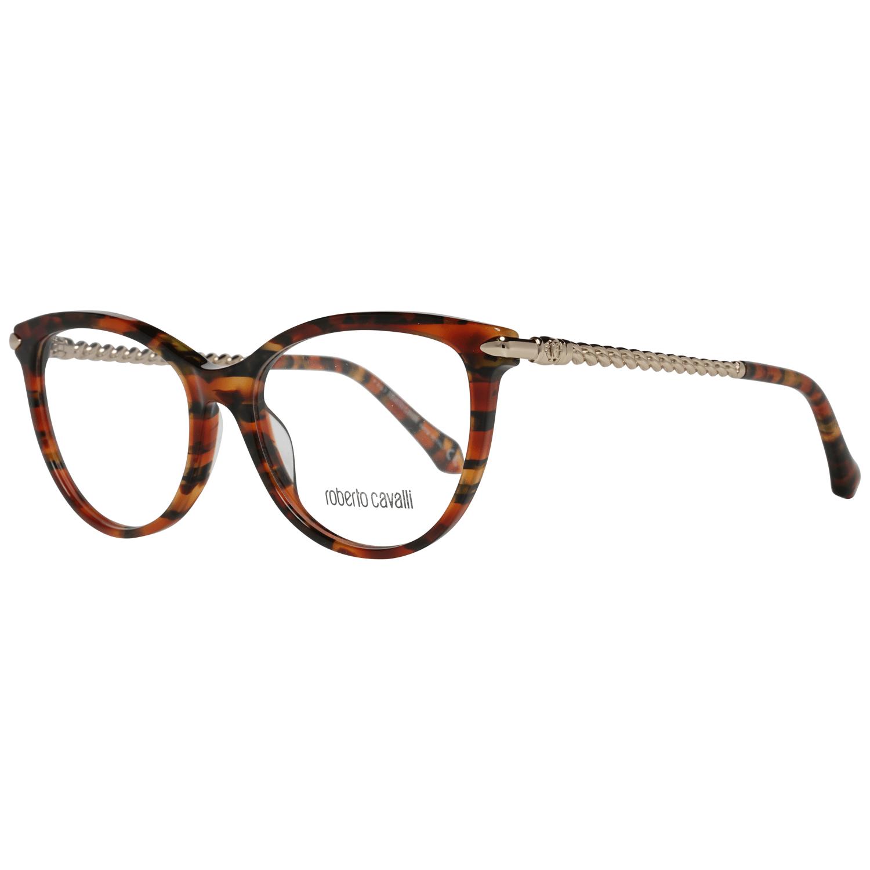 Roberto Cavalli Women's Optical Frames Eyewear Brown RC5045 53A55