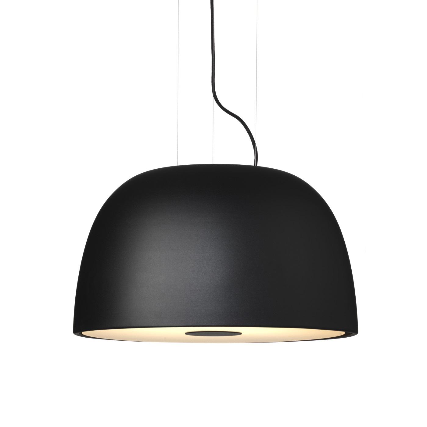 Taklampa BELL svart strukturlack, Örsjö belysning