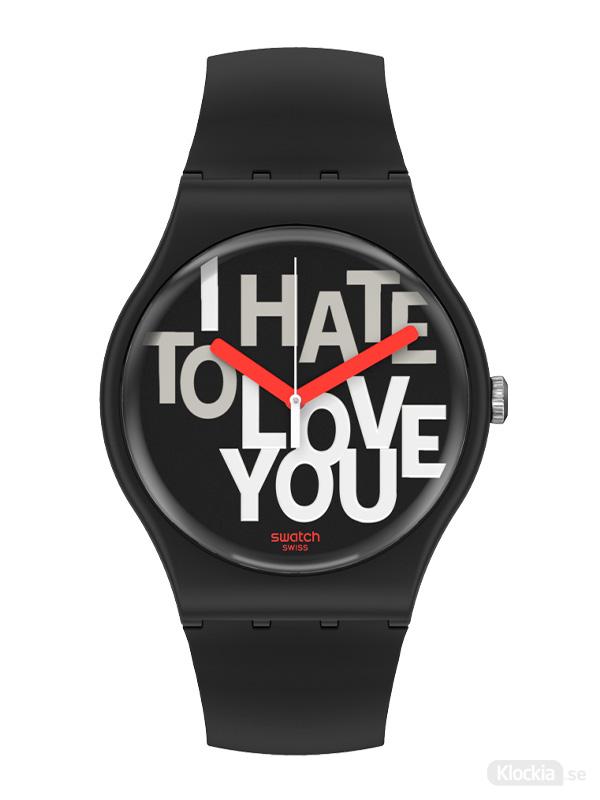 SWATCH Hate 2 Love SUOB185