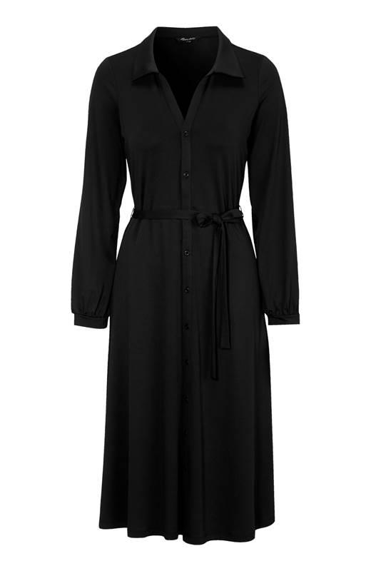 Happy Holly Jerseyklänning Linda Svart