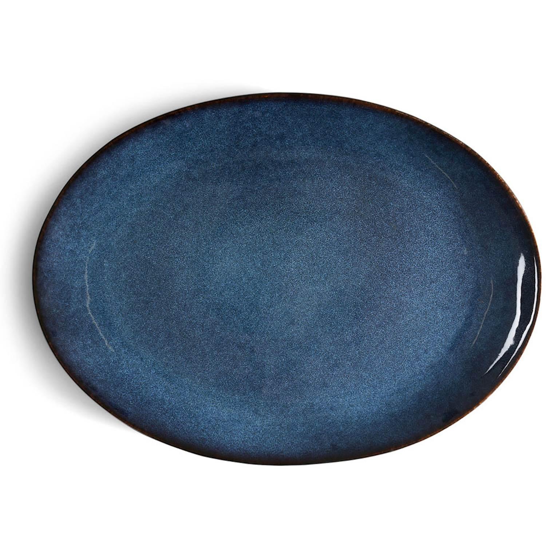 Bitz Serveringsfat ovalt 45 x 34 cm