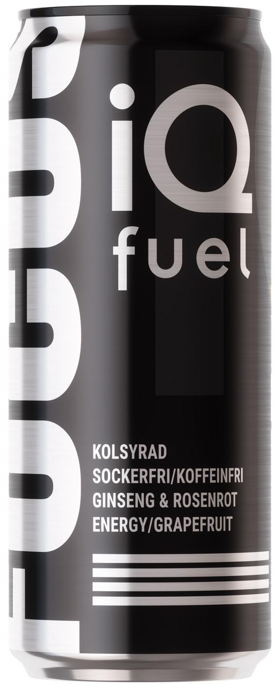 IQ Fuel Focus - Grapefruit 33cl