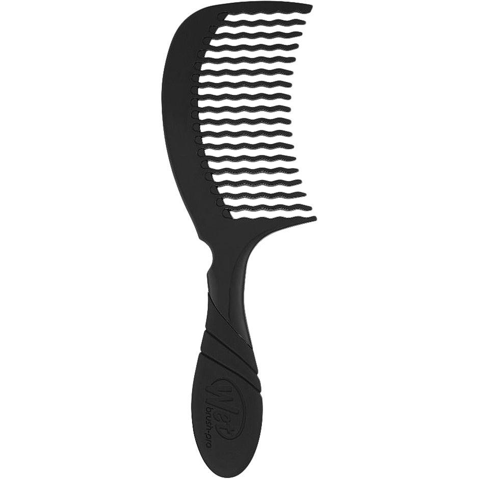 Pro Detangling Comb Black, WetBrush Hiusharjat