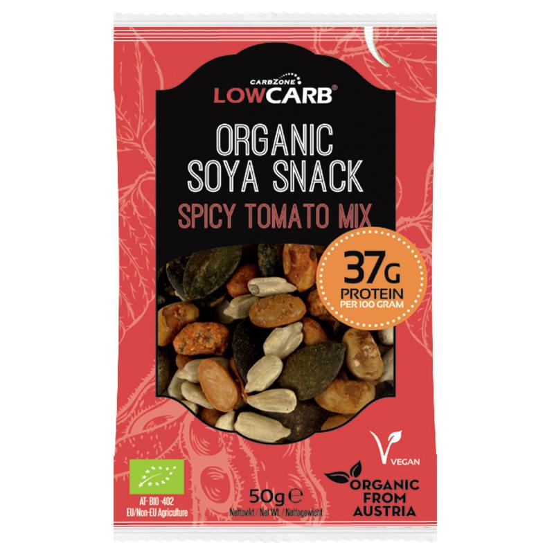 """Eko Protein Soya Snack """"Tomato Mix"""" 50g - 52% rabatt"""