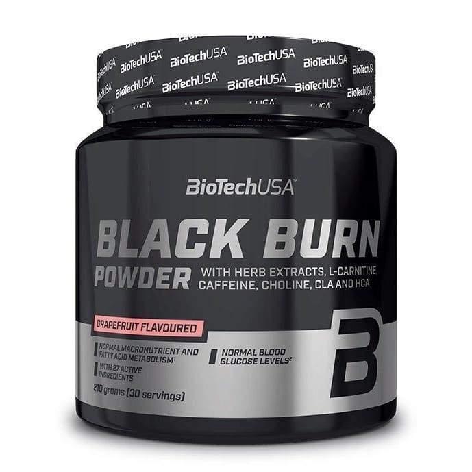 Black Burn Powder, Grapefruit - 210 grams