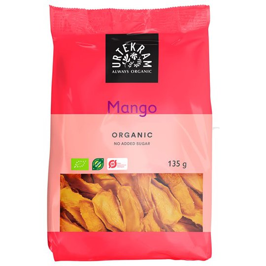 Urtekram Food Ekologisk Mango, 135 g