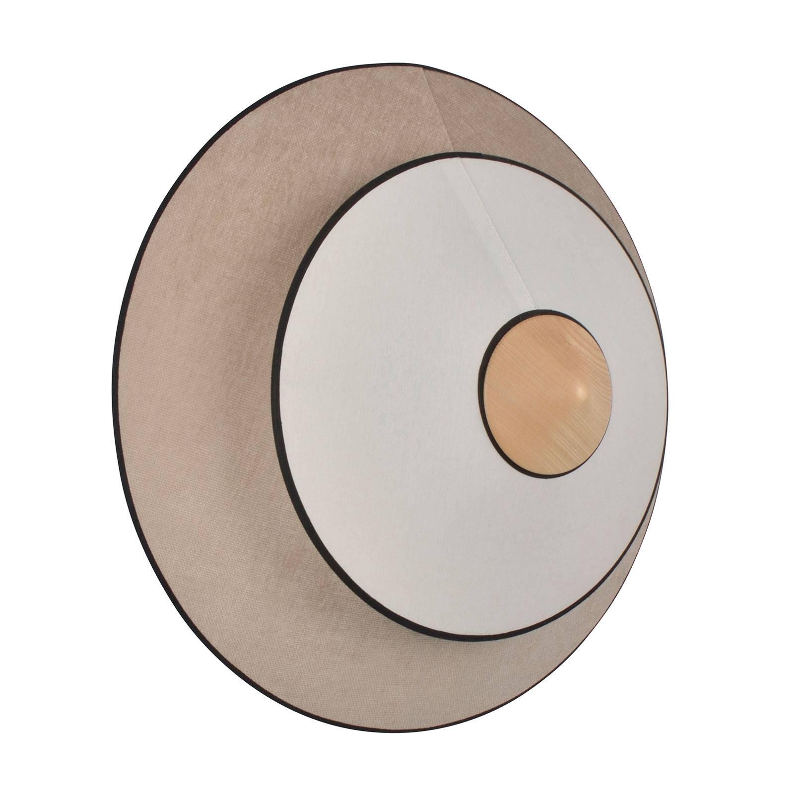 Forestier Cymbal S -LED-seinävalaisin, natur