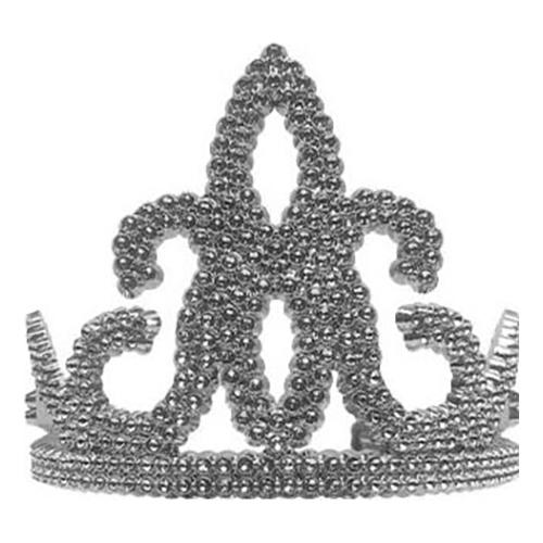 Drottningtiara Guld & Silver - Silver