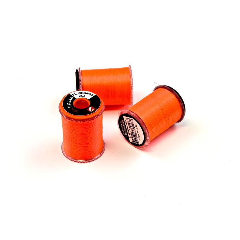SSS Tying Thread Fl. Orange 12/0 Frödin Flies