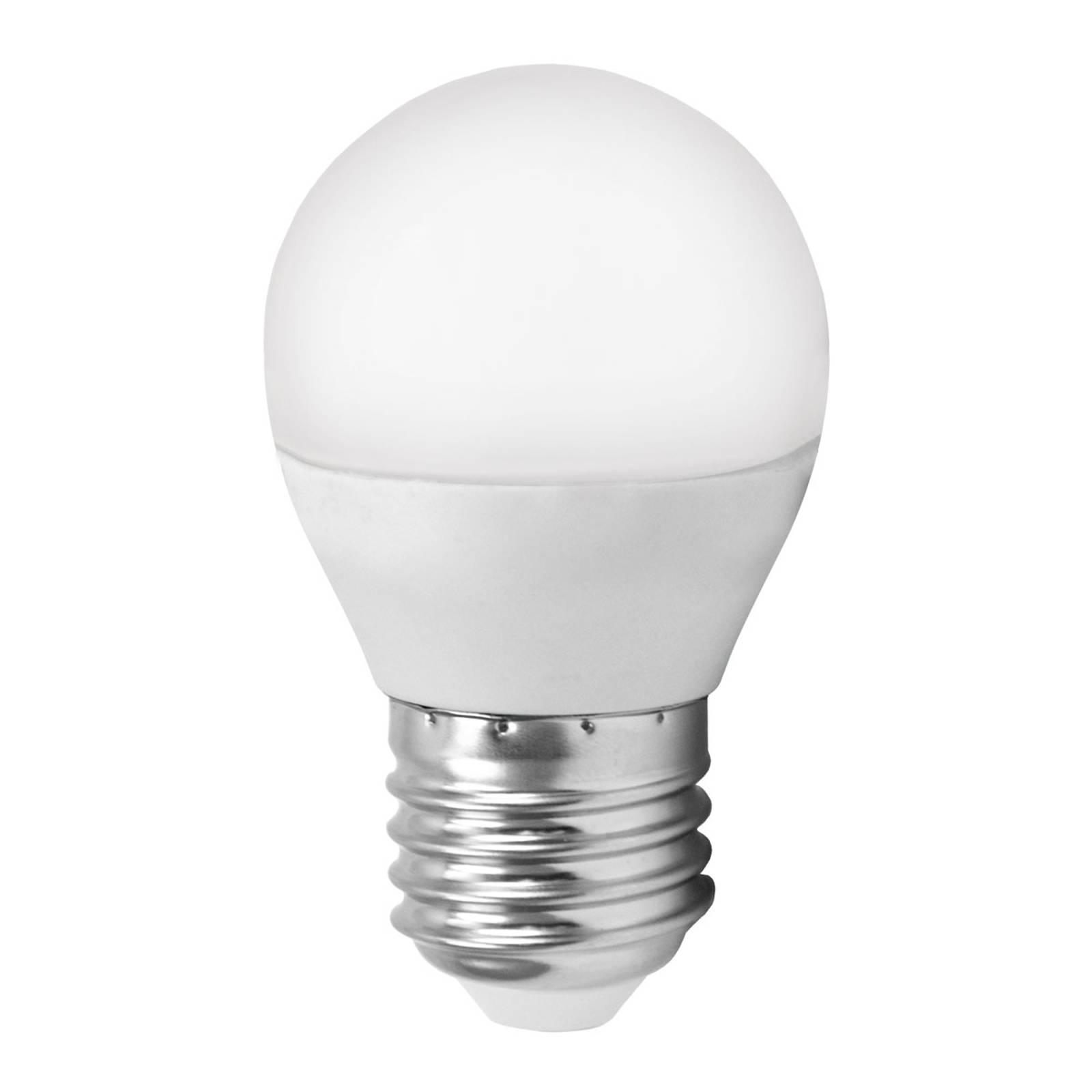 LED-lamppu E27 G45 4W MiniGlobe, lämmin valkoinen