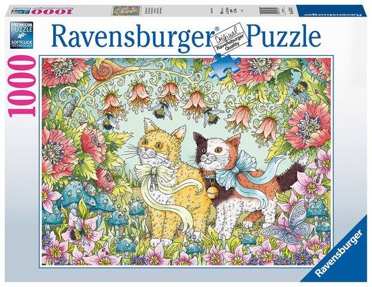 Ravensburger Puslespill Søte kattunger 1000 Brikker