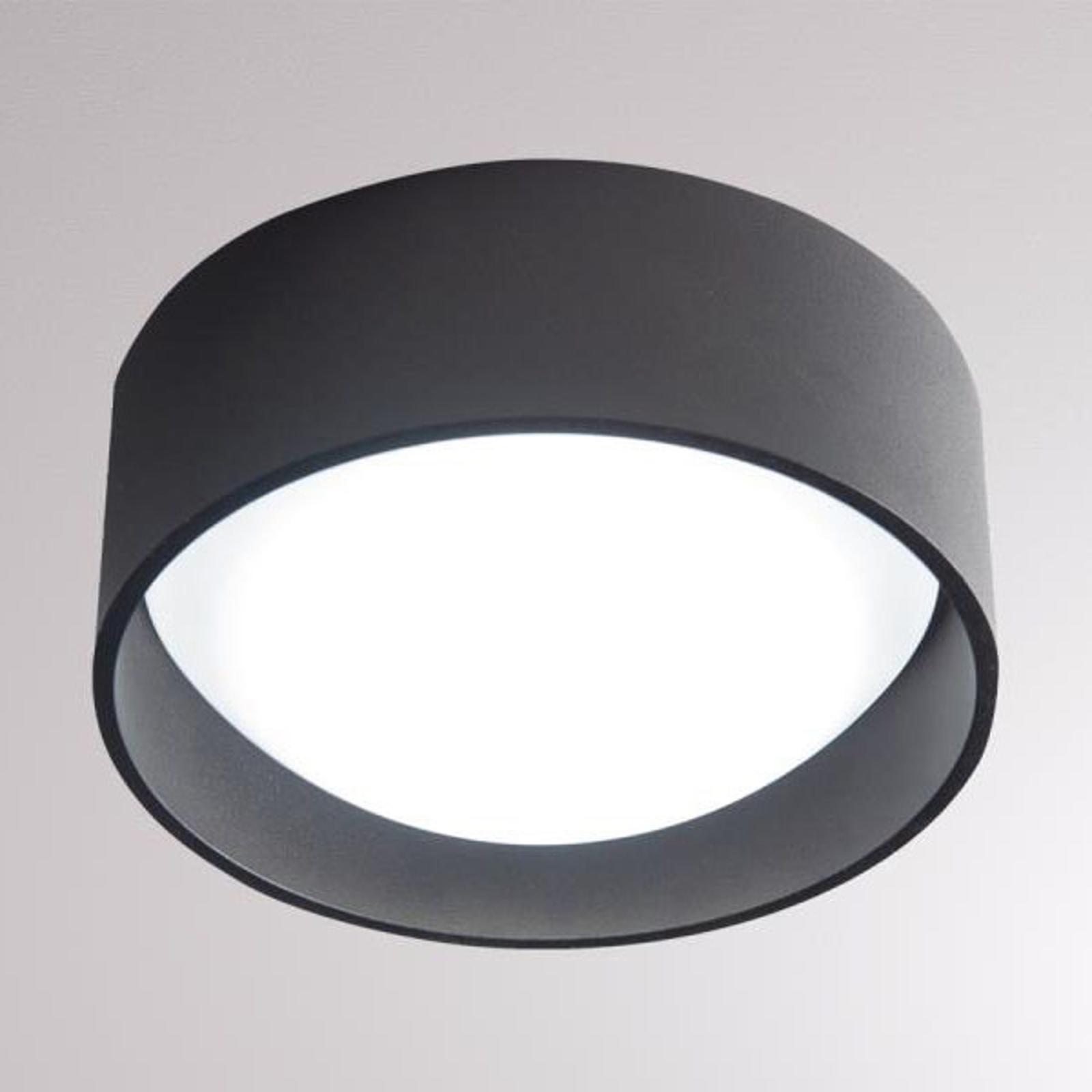 LOUM Yura -LED-kattovalaisin, musta
