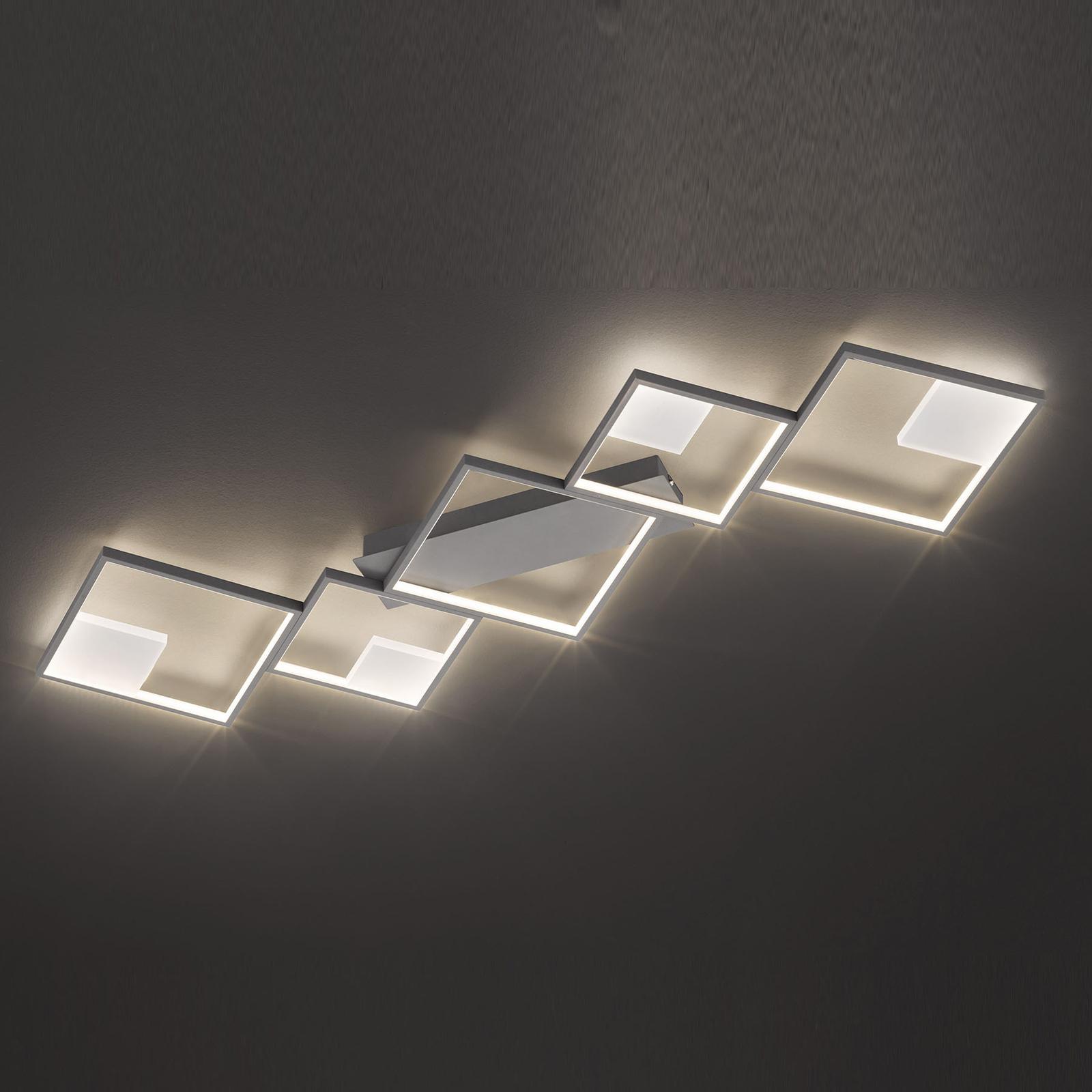 LED-kattovalaisin Jade, himmennys seinäkytkimellä