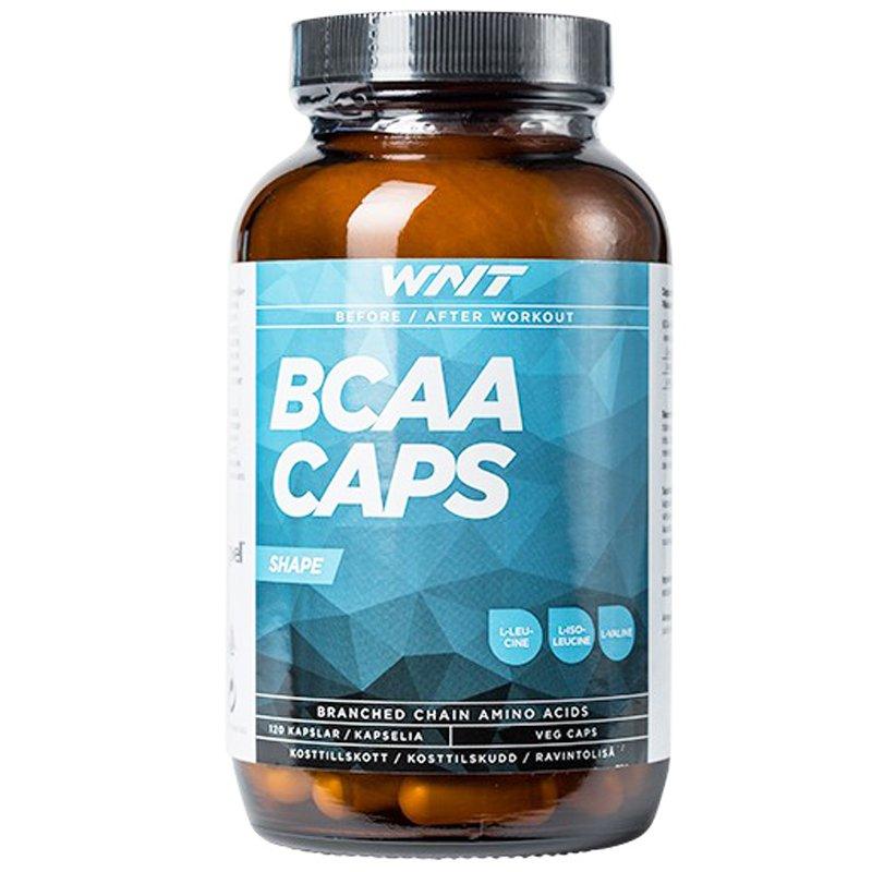 """Ravintolisä """"BCAA Caps"""" 120-pack - 43% alennus"""
