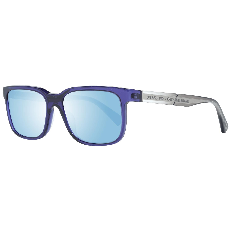 Diesel Men's Sunglasses Blue DL0341 5490X