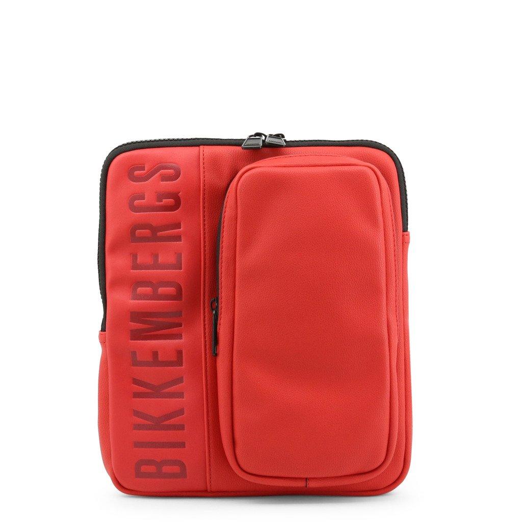 Bikkembergs Men's Crossbody Bag Red E91PME560022 - red NOSIZE