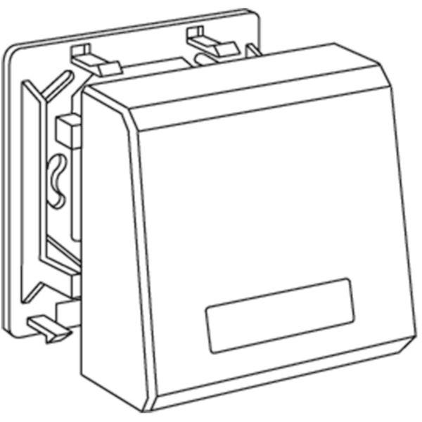 Schneider Electric 5910110 Tilkoblingsboks 37 x 80 x 80 mm