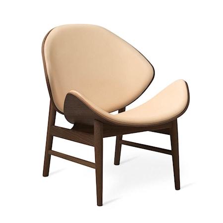 The Orange Lounge Chair Nature Läder Smoked Ek