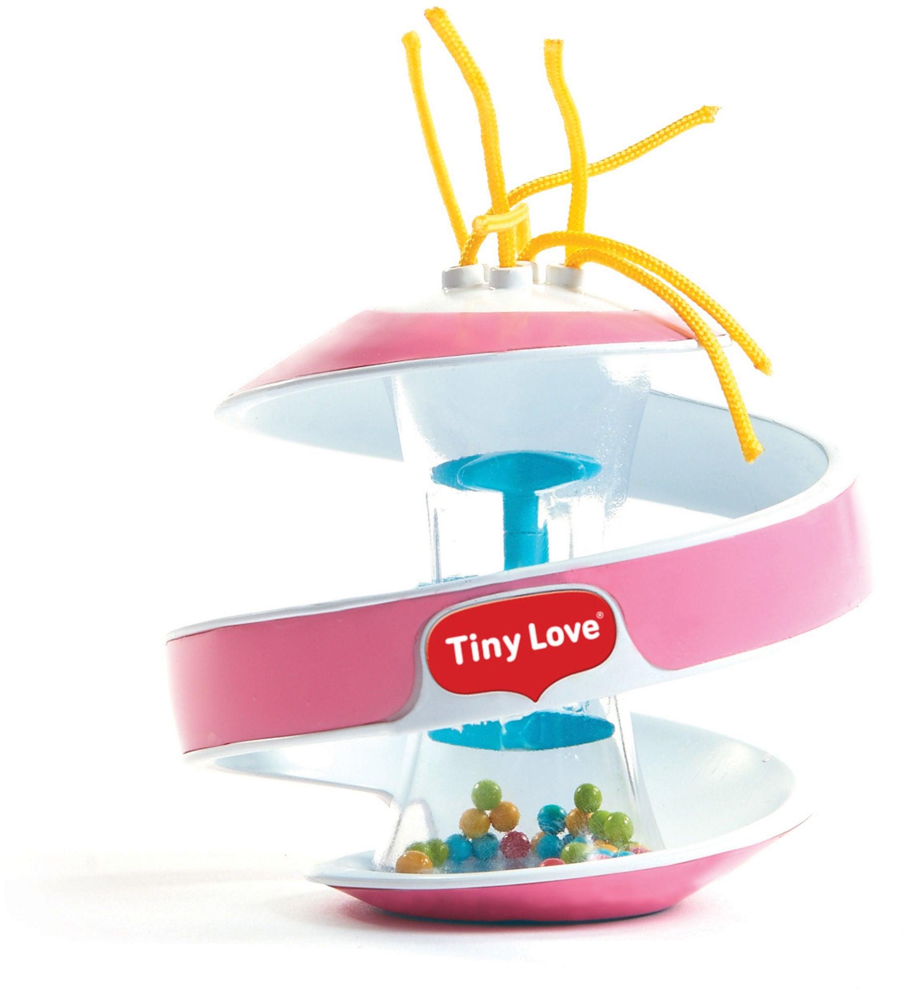 Tiny Love Inspiral Aktivointilelu Rainstick Ball, Rosa