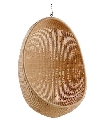 Hanging egg chair hengestol - For utendørsbruk