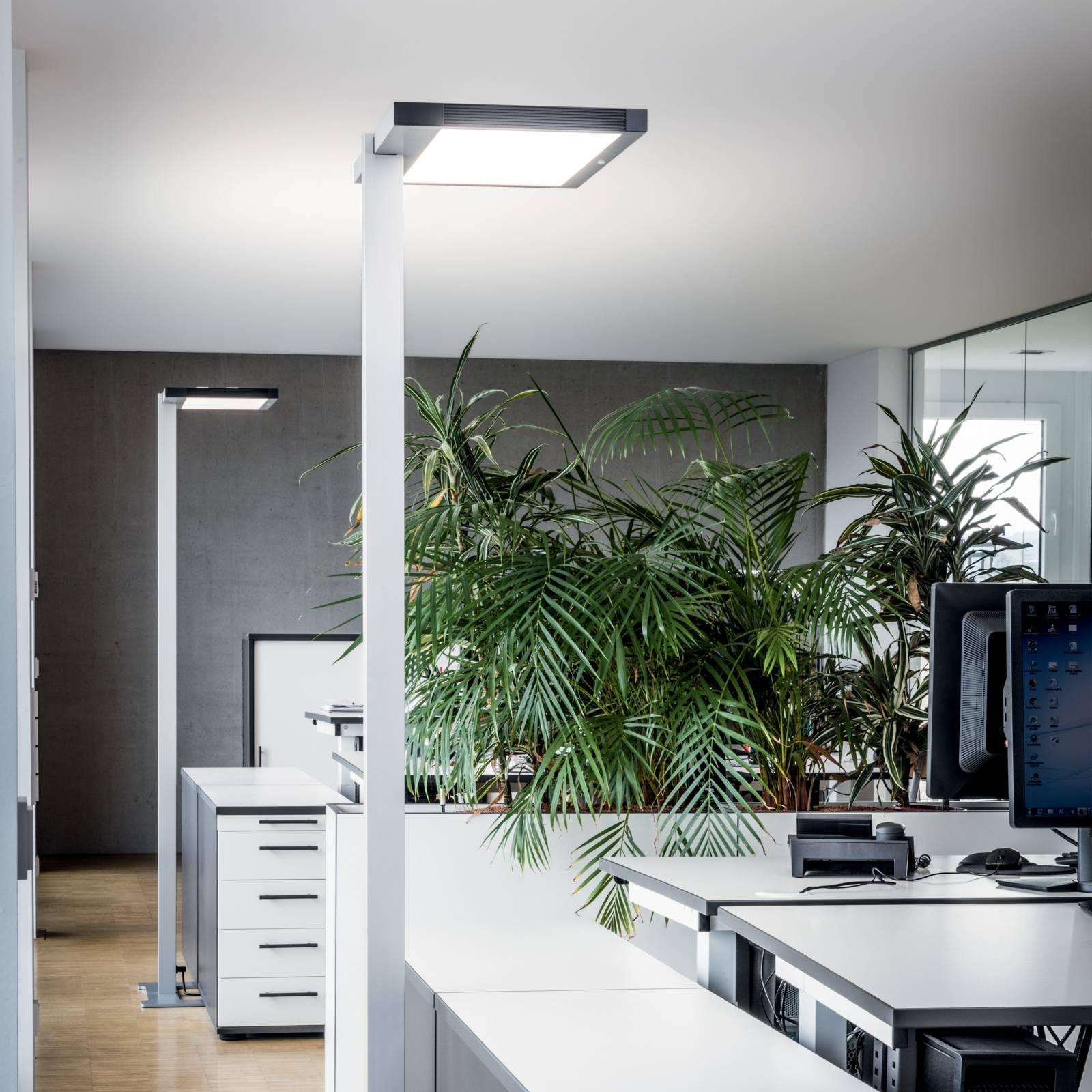 Luctra Vitawork LED-toimistolattialamppu 7000lmPIR