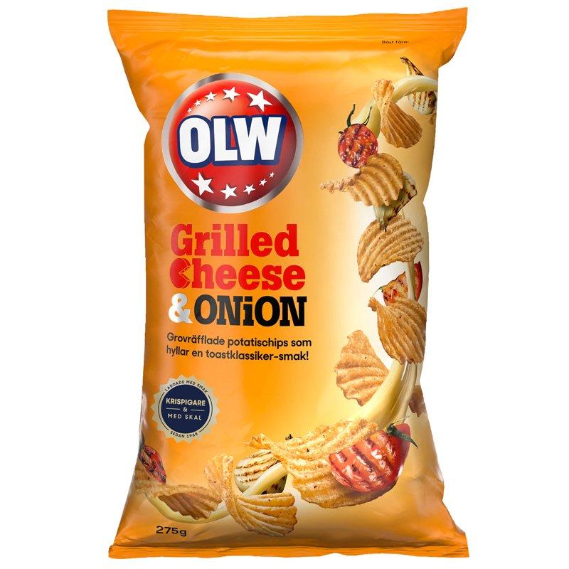 "Sipsit ""Grilled Cheese & Onion"" 275g - 57% alennus"