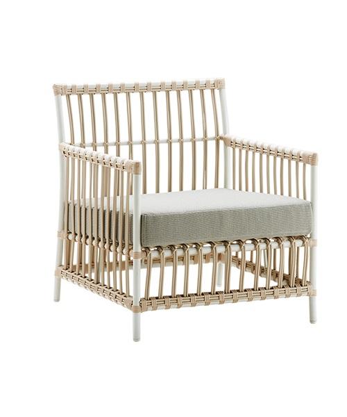 Caroline Lounge Chair vit Exterior, Sika-Design