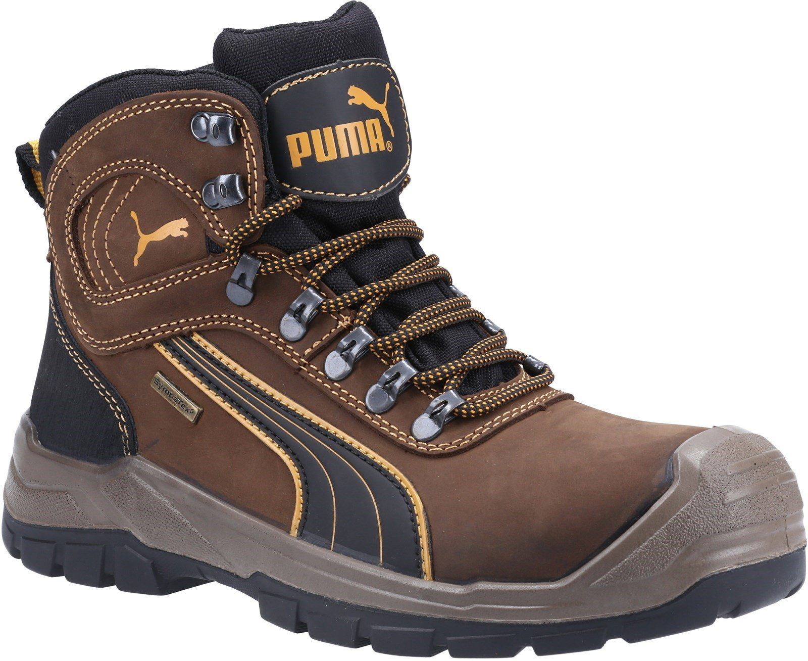 Puma Safety Unisex Sierra Nevada Mid Lace up Boot Brown 23084 - Brown 6