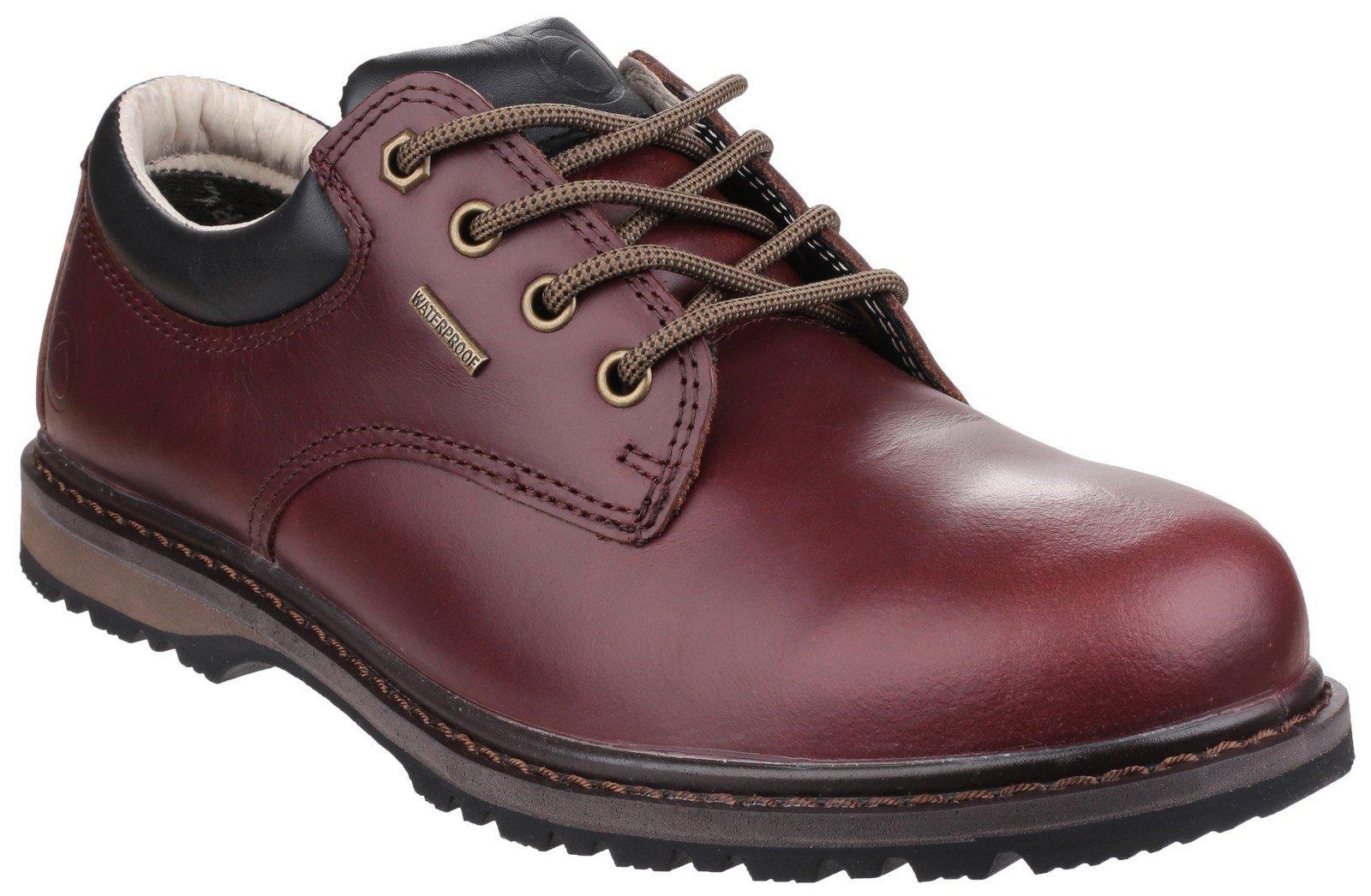 Cotswold Men's Stonesfield Hiking Shoe Various Colours 23597 - Chestnut 7