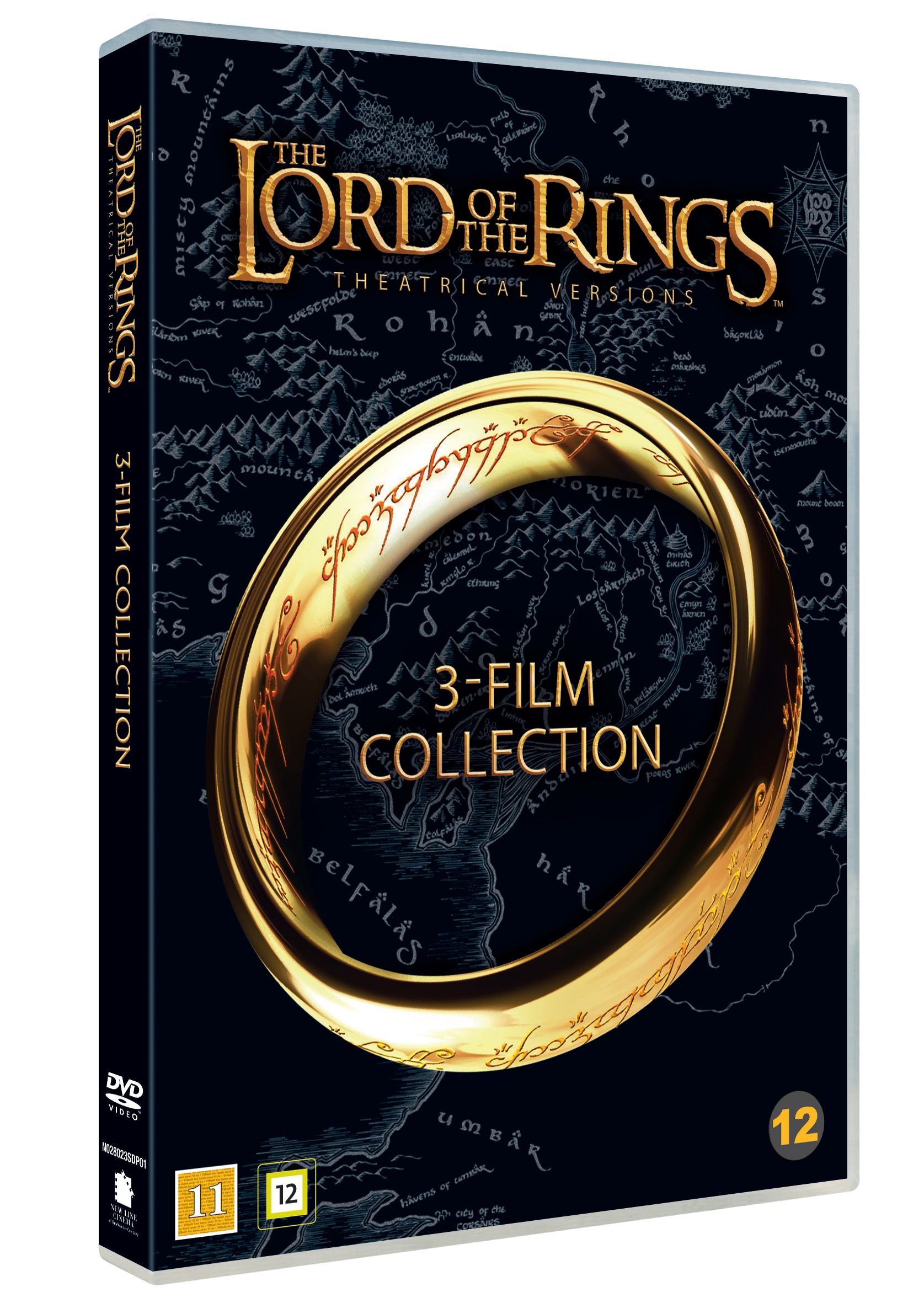 Lord of the rings trilogy (theatrical cut) - DVD