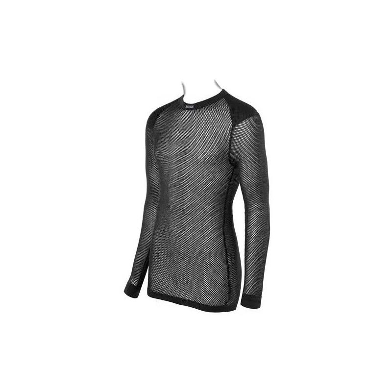 Brynje Wool Thermo Shirt M Trøye med rund hals, lang arm og innlegg