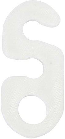 Opphengsbrakett Hvit 3cm