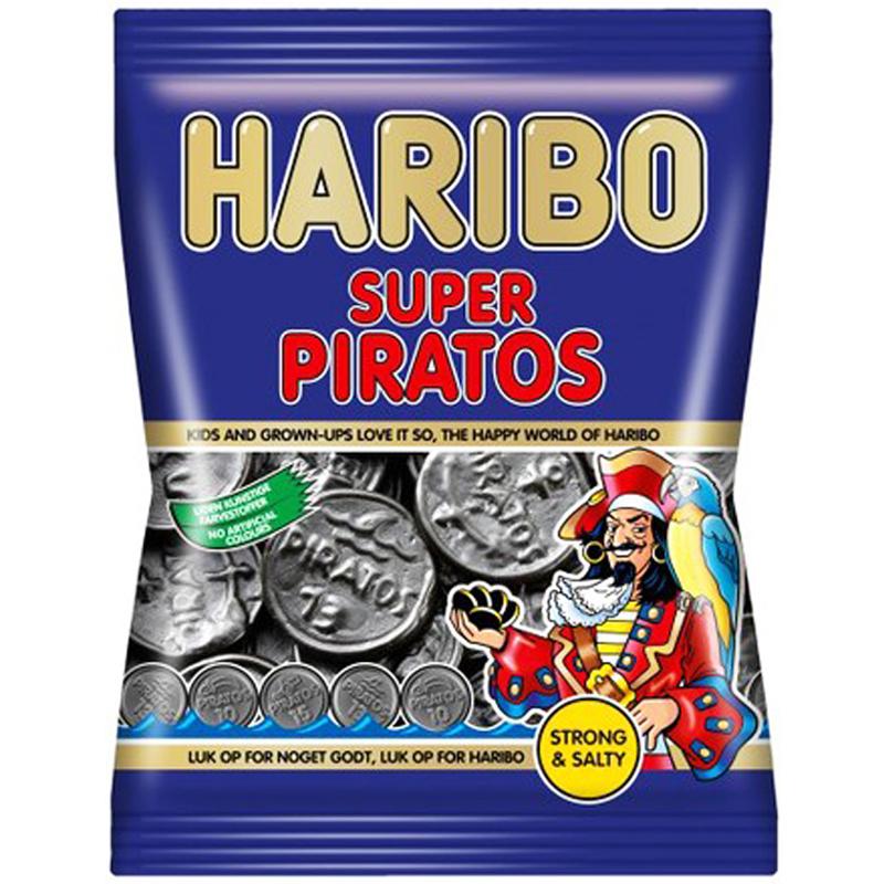 """Godis """"Super Piratos"""" 135g - 44% rabatt"""
