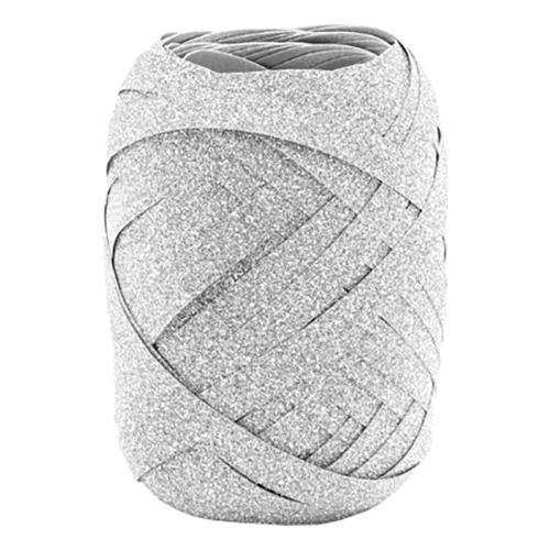 Presentsnöre Silver Glitter