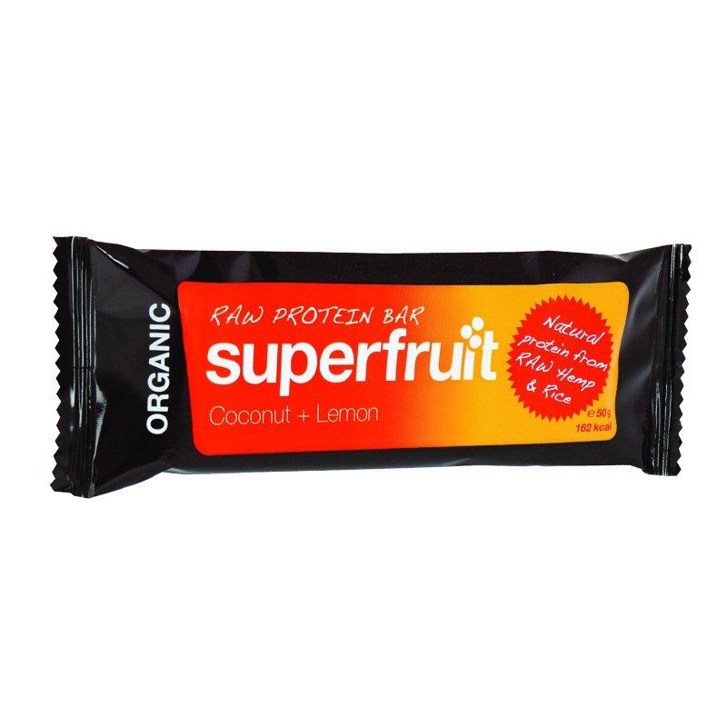 "Luomu Raakaproteiinipatukka ""Coconut & Lemon"" 50g - 40% alennus"