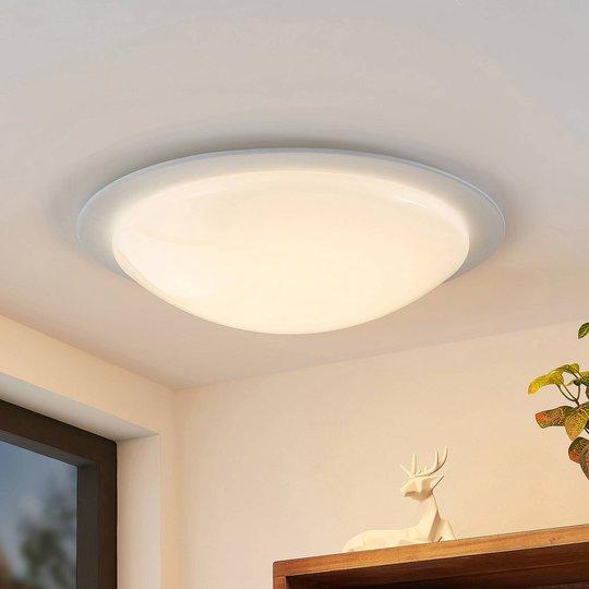 Lindby Aurela LED-taklampe CCT RGB Ø 58,5 cm
