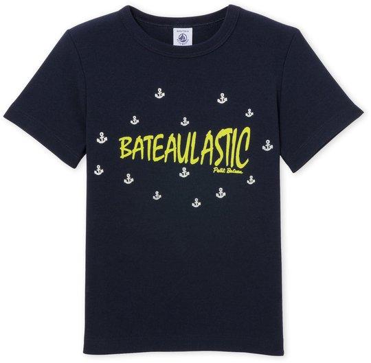Petit Bateau T-Skjorte, Marineblå 5 år