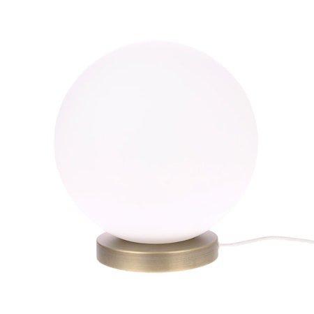 Glasslampe Ball L Hvit